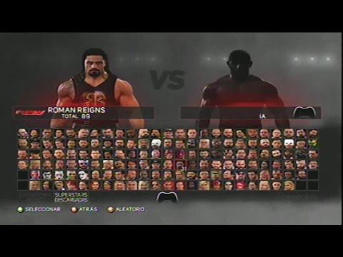 WWE 2K17 - ALL SUPERSTARS, ARENAS, CHAMPIONSHIPS AND ATTIRES UNLOCKED XBOX 360/PS3