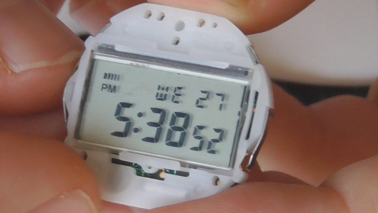 4e4231dc087f Como cambiar la pila a tu reloj digital Casio W59   F-91W - YouTube