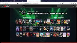 Xbox Game Pass Announcements Impressions / Видео