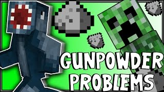 Minecraft Xbox - Double Trouble Challenge - GUNPOWDER PROBLEMS! [2]