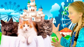 Children Nursery Rhymes with SUPERHEROES for Toddlers and Babies   Kids Three Little Kittens Songs