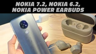 IFA 2019: First Look at the Nokia 6.2, Nokia 7.2, and the Nokia Power Earbuds