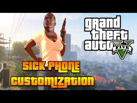 Change Your Phone!?! - How To Customize Your Phone in GTA 5 (Next - Gen)