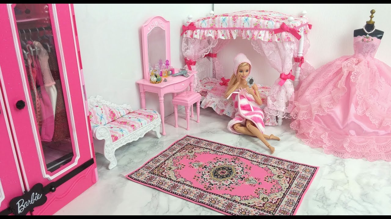 Barbie Bedroom Morning Routine Barbie Spa To Fab باربي