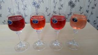 .Малиновка. Настойка из водки и разных ягод.Красиво и вкусно.