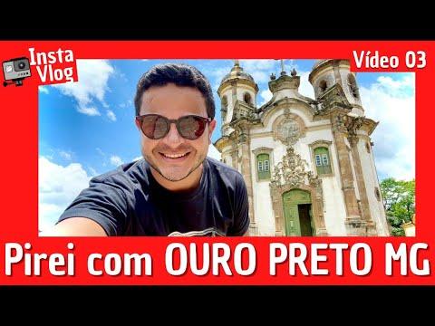✈InstaVlog em MG: Explorando OURO PRETO Minas Gerais e  | 03/04 ( Minas Gerais )