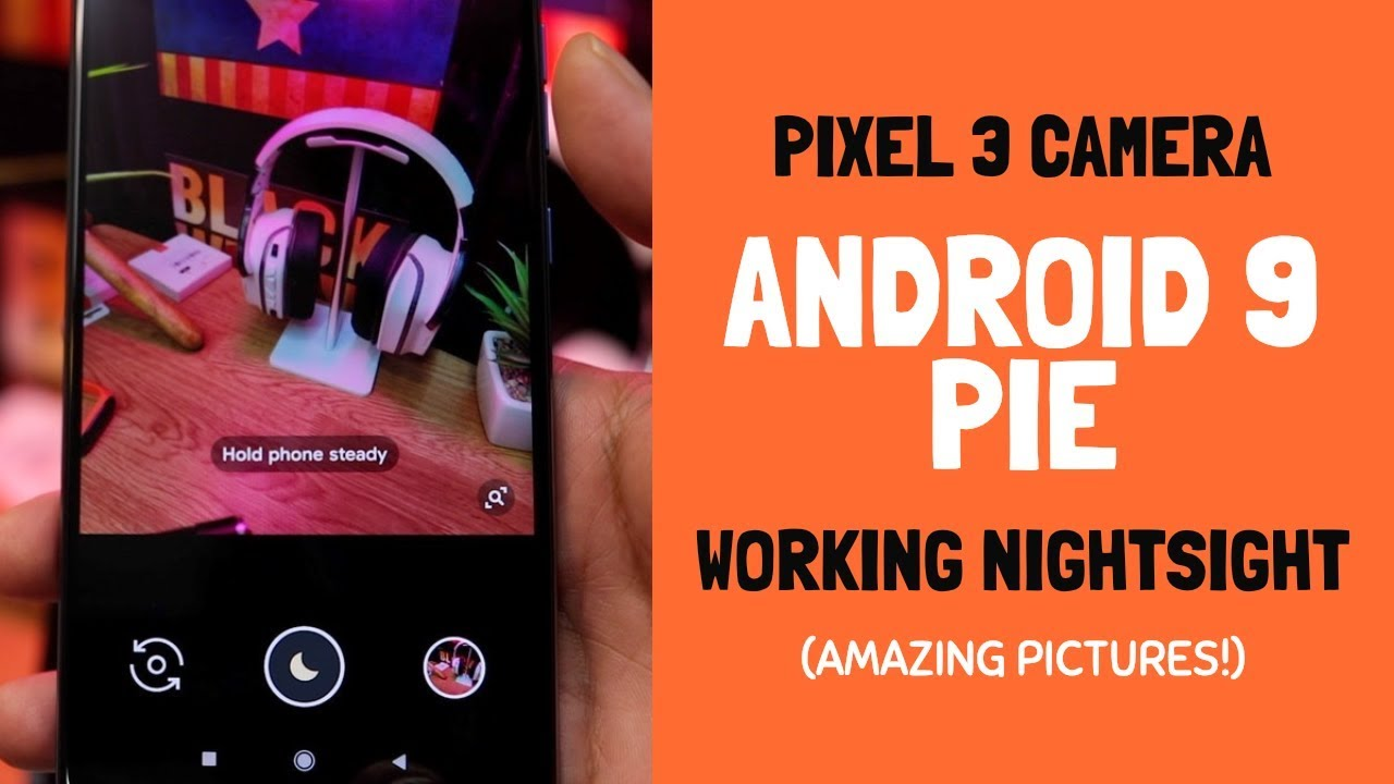 Poco F1 - Working Pixel 3 GCAM with Night Sight on Android 9 Pie