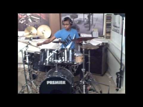 Nathan Greene young drummer of the year finalist 2013