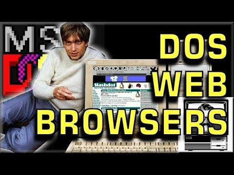DOS Web Browsing in 2017 | Nostalgia Nerd