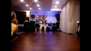Andrew Brasilerinho - LAMBADA - Latinoo aerobics show ( Balatonalmádi, Hungary) 2012.09.14.