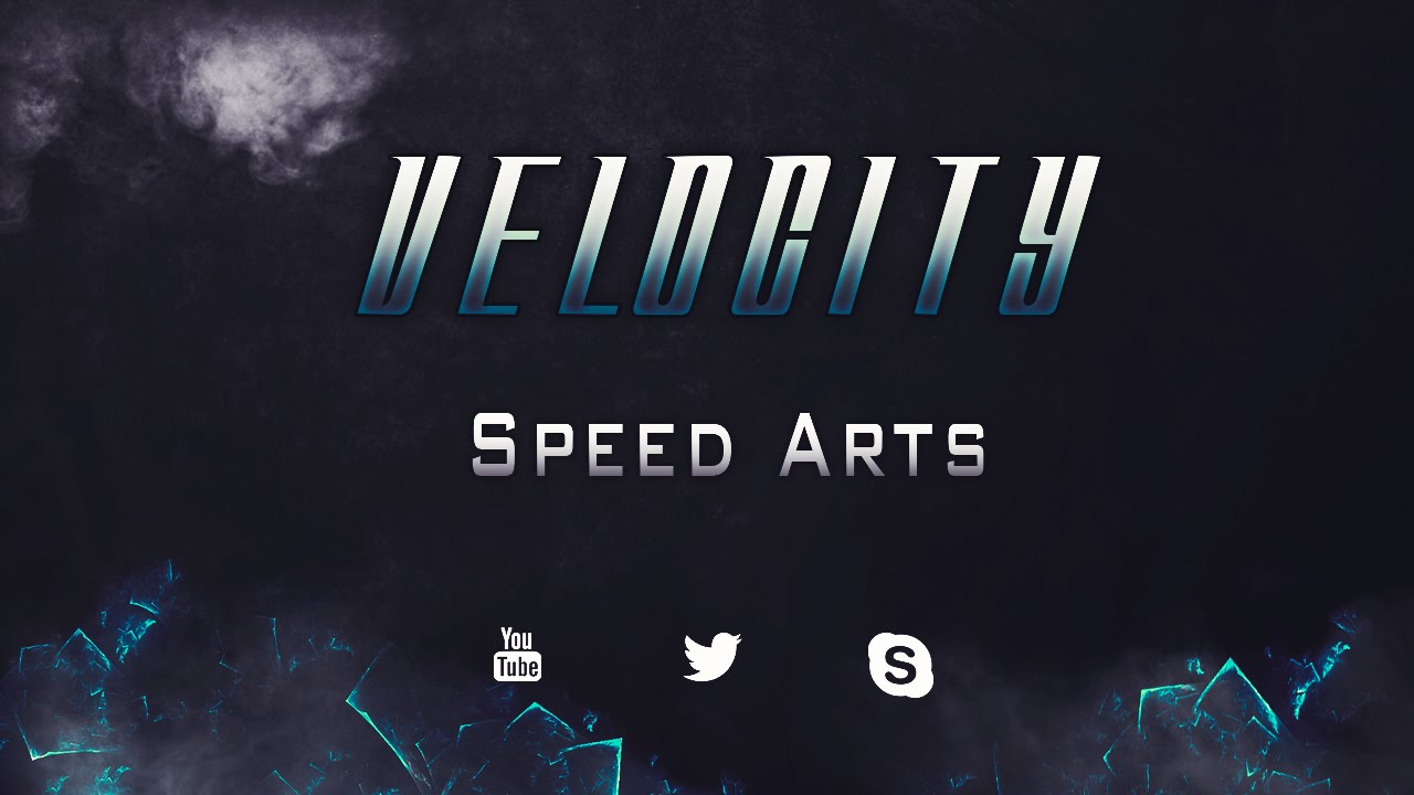 Sick Channel Art and Logo Speed Art By Velocity - YouTube