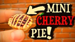 WORLD'S SMALLEST CHERRY PIE!