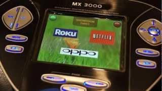 urc s mx 3000 color touchscreen remote
