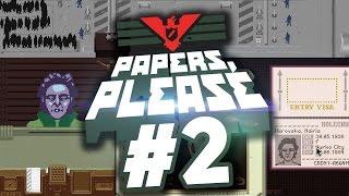 Поиграем в Papers, Please #2 -  Обнажёнка на таможне!