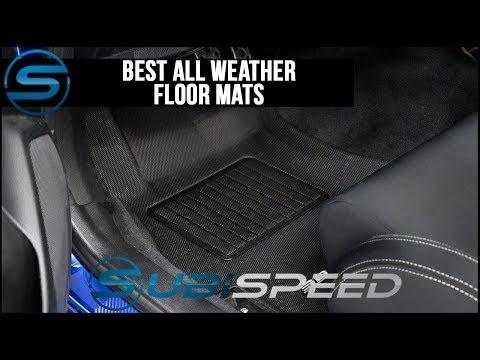 Subispeed - Best All Weather Floor Mats