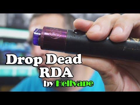 Drop Dead RDA by Hellvape - BasilisL (Greek Reviews)
