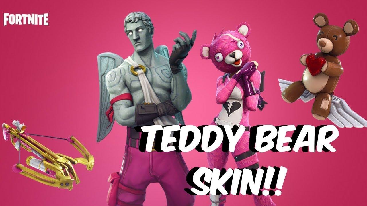 Fortnite Battle Royale NEW SKIN THE TEDDY BEAR IS