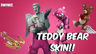 Fortnite Battle Royale - **NEW SKIN** - THE TEDDY BEAR IS OUT TO SLAY!!