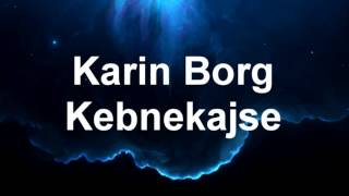 Karin Borg - Kebnekajse (Peaceful Piano)