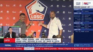 LOSC - Projet, mercato, Turpin... Gérard Lopez fait le point