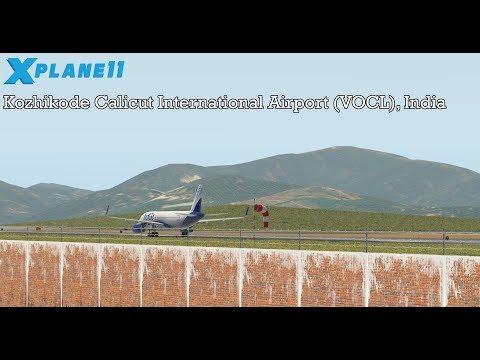 X-PLANE 11  Kozhikode Calicut International Airport, India   Testing