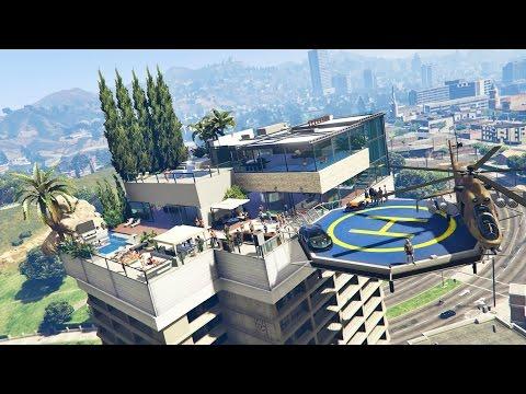 GTA 5 Mods - BILLIONAIRES PENTHOUSES MOD TOUR!! GTA 5 Penthouses Mod Gameplay! (GTA 5 Mods Gameplay)