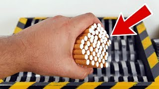 SHREDDING CIGARETTES