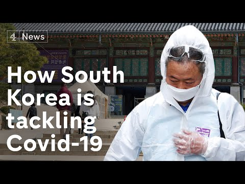 How South Korea became the 'model' for beating the coronavirus