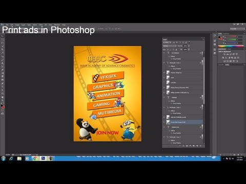creating print ads with photoshop