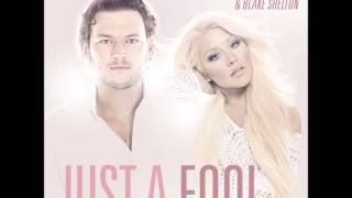 Christina Aguilera Ft Blake Shelton Just a fool audio.mp3