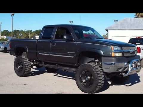 Lifted Gmc Canyon >> 2004 Chevrolet Silverado 2500 - Gibson Truck World ...