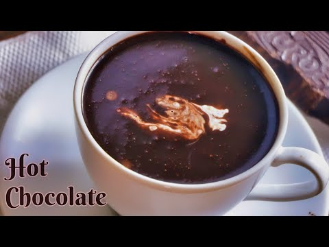 హాట్ చాక్లెట్ | how to make Hot Chocolate| homemade creamy hot chocolate recipe by vismai food