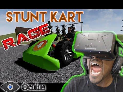 { RAGE }   STUNT CART   DK2 RAGE GAME  