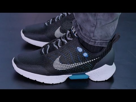 First Look: Nike's POWER-LACING Shoe – Nike HyperAdapt 1.0
