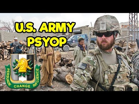 US ARMY PSYOP 2020