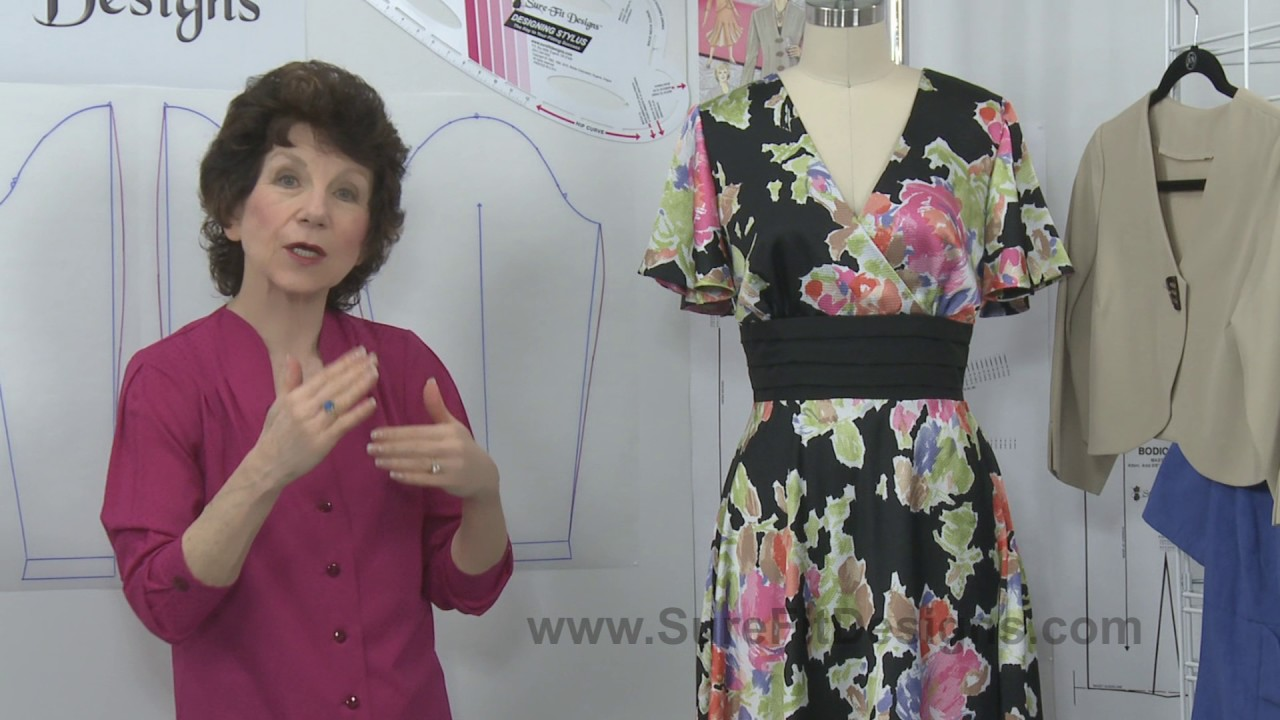 Large Upper Arm Alterations Style Options By Sure Fit Designs Youtube