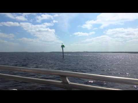 Cumberland Island Ferry Ride in 4k