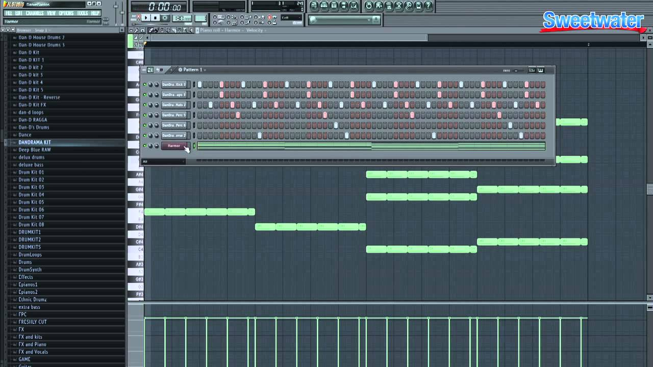 Image Line FL Studio 11 Demo - Sweetwater Sound - YouTube