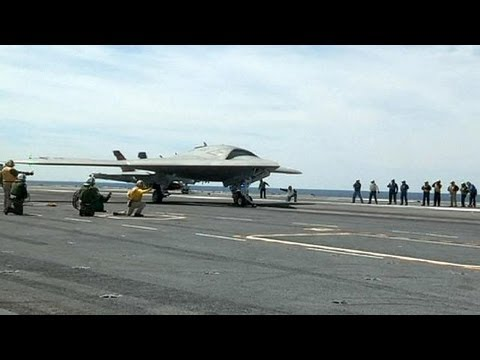 A future without pilots? Fully-automatic US drone launched from aircraft carrier