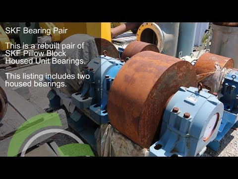 Green Industrial Quick Take - SKF SAF 22240 SAF 240 22240PILLOW BLOCK BEARINGS For Sale