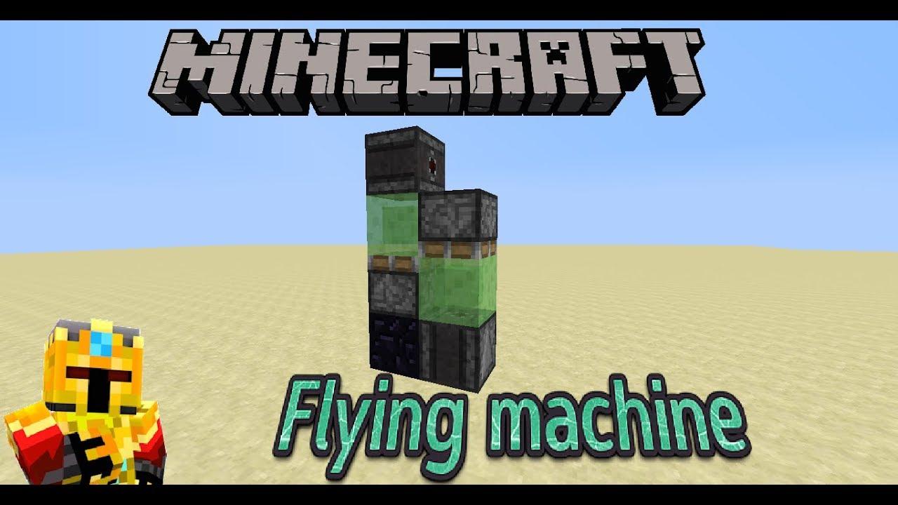 Minecraft | Vertical Bidirectional Flying machine