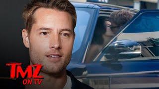 Justin Hartley Kisses New GF Sofia Pernas Amid Divorce | TMZ
