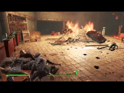 Fallout 4: Kendall Hospital Augusta Safehouse Dead Drop Quest