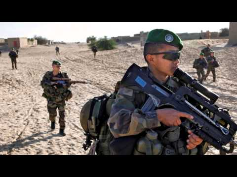 Tribute to French Military - Mali War