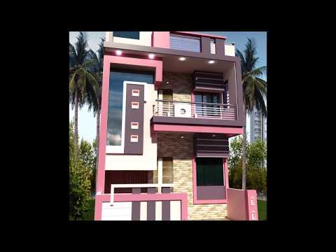 small front 2 story house design
