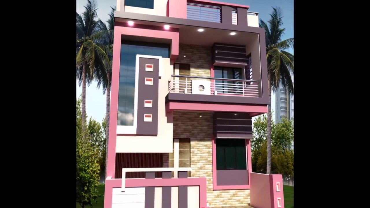 Small Front 2 Story House Design Youtube