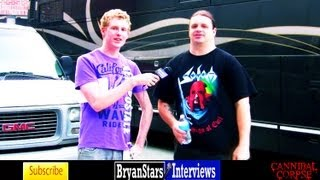"Cannibal Corpse Interview George ""Corpsegrinder"" Fisher 2012"