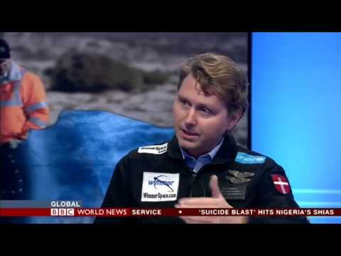 Per Wimmer: Virgin Galactic Crash Commentary - BBC World News 2014 11 03