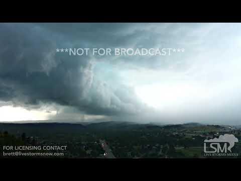 08-14-2017 Rapid City, South Dakota - Severe Storm Timelapse