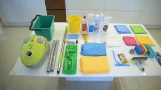 состав сумки домработницы и подготовка к работе